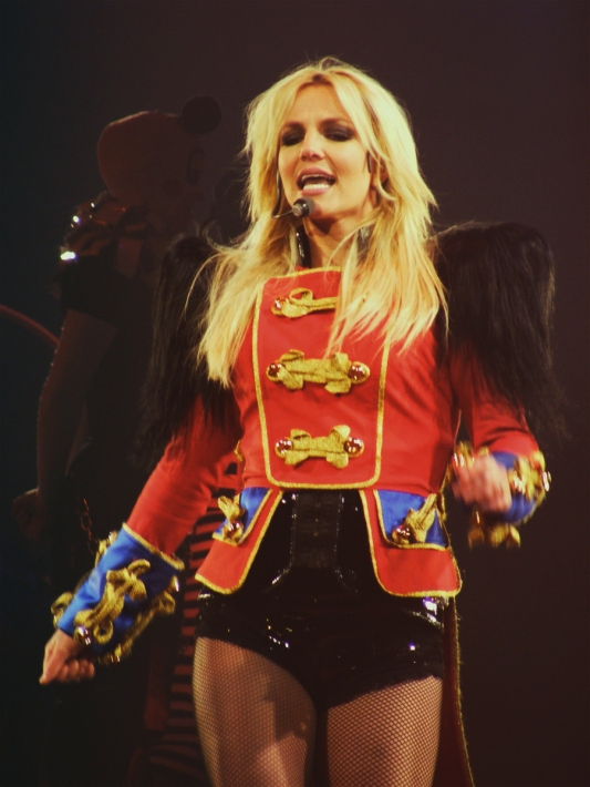 Britney Spears, photographed by Anthony Romano